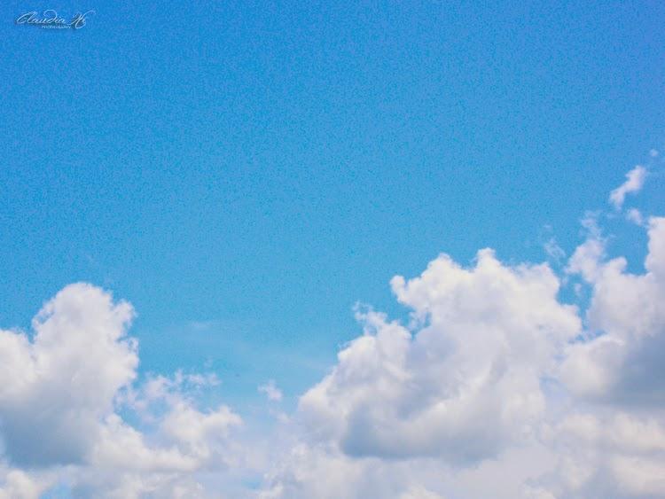 céu com nuvens, sky, clouds