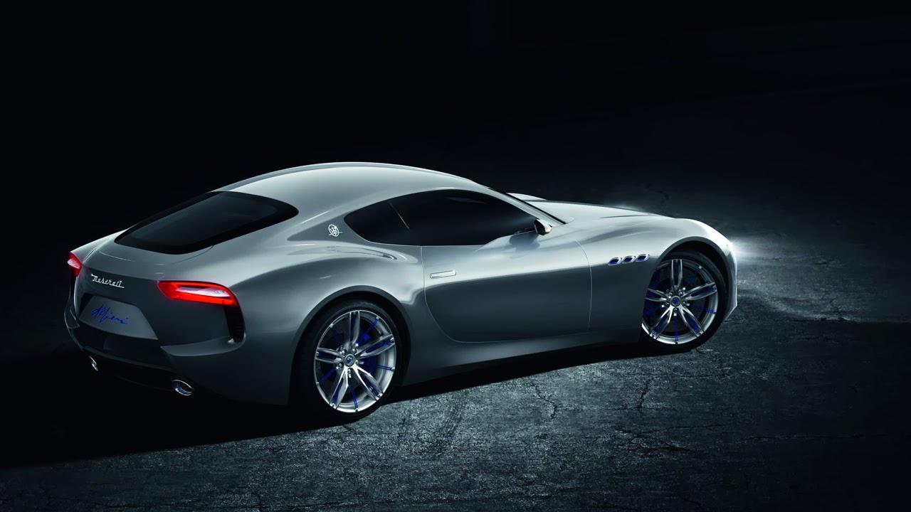 Maserati Alfieri Concept Car rear