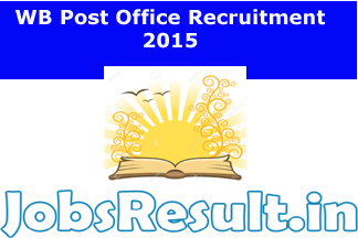 WB Post Office Recruitment 2015