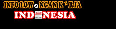 Info lowongan kerja indonesia