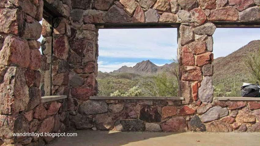 Restos De Casa De Piedra En Tucson