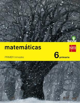 LIBROS DE TEXTO  Matemáticas . 6 Primaria : Savia SM - Edición 2015  MATERIAL ESCOLAR : Curso 2015-2016  Comprar en Amazon