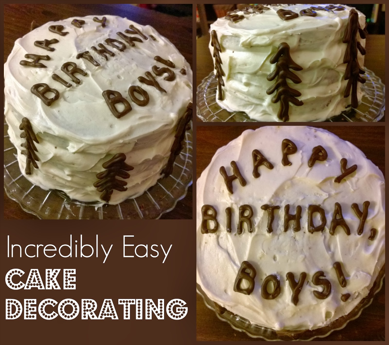 Cake Decorating Melted Chocolate : . You Pinspire Me .: Creative Easy Cake Decorating