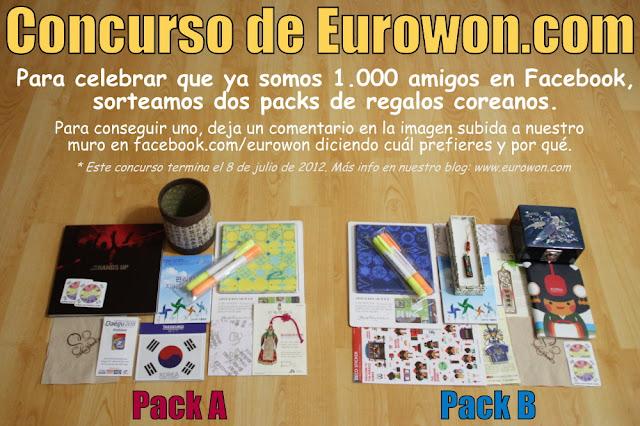 Packs de regalo en concurso de Eurowon