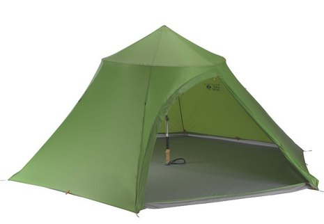 To achieve such a low weight the Hoopla features a lower interior height (50 inches) than other ultralight pyramid tents. This would pose a problem with a ...  sc 1 st  Appalachian Mountain Club & Floorless Pyramid Tents: The Mountain Hardwear Hoopla 4 - AMC Articles