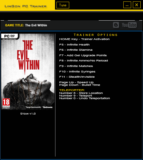 The Evil Within trainergames