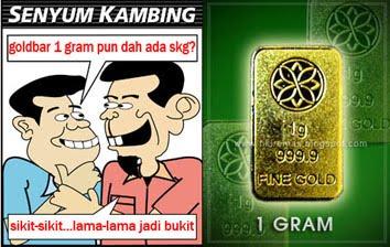 1 Kambing 1 Dinar