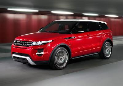 Fotos da Range Rover Evoque