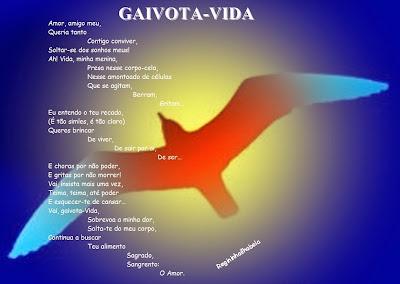 Poema e arte de autoria de Regina Célia de Jesus.
