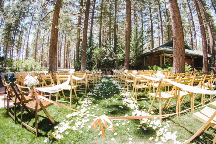 Southern California Wedding Ideas And Inspiration Big Bear Forest Wedding At The Inn At