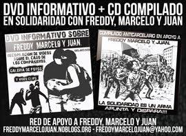 Freddy, Marcelo y Juan