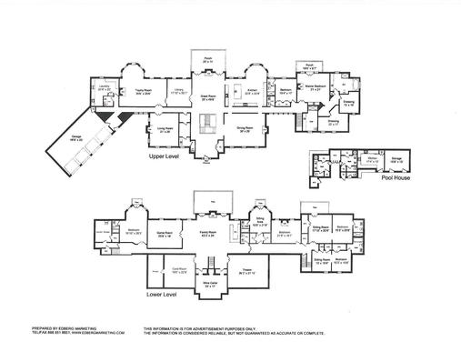 Mansions more 15 000 square foot new jersey mansion for 15000 square foot house plans