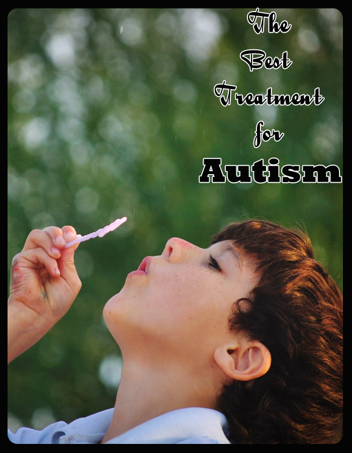 The Best Treatment for Autism
