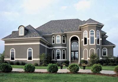 Model Rumah Mewah Unik 2014
