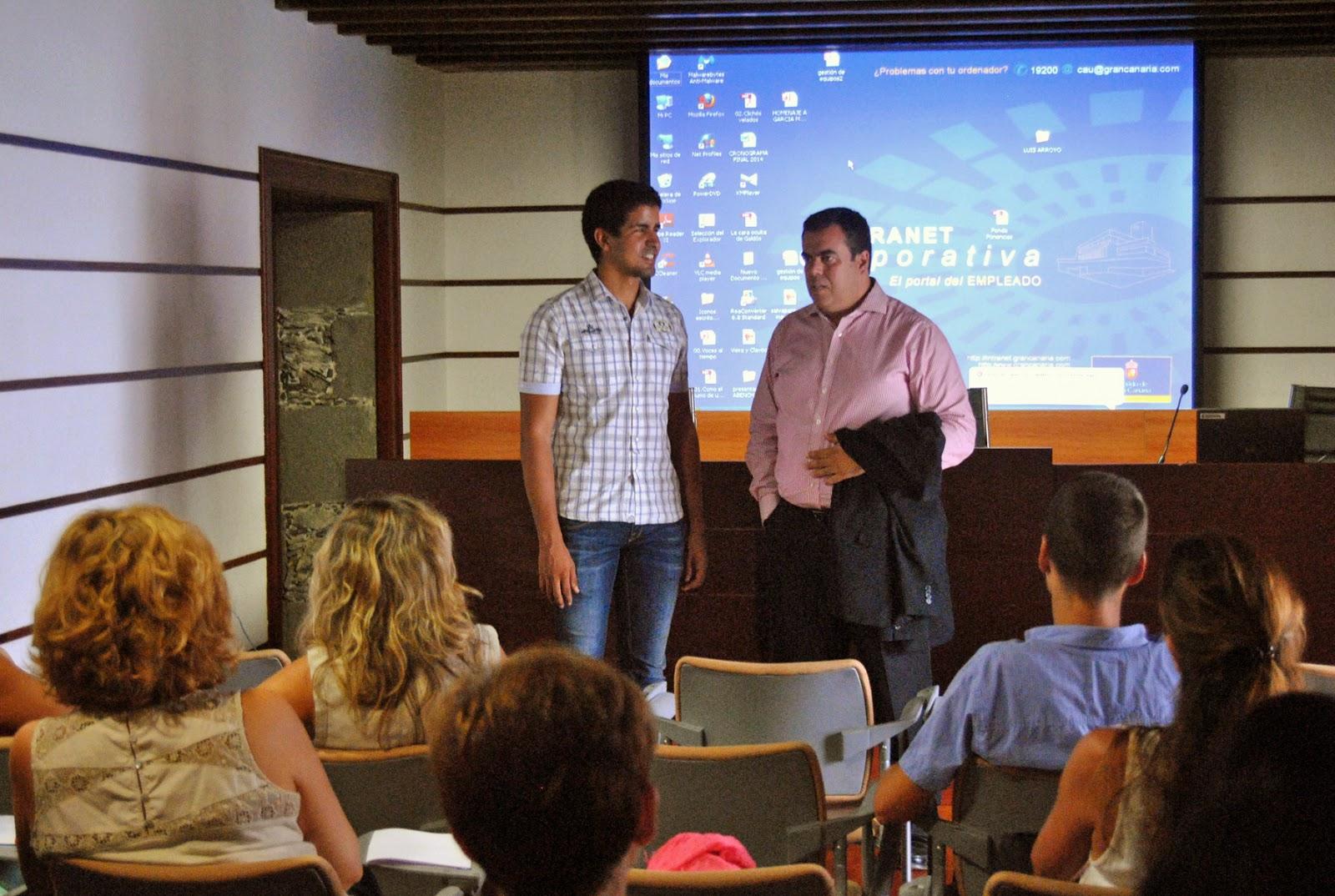 Enhamed imparte un curso de coaching al patronato de turismo - Curso de cocina las palmas ...