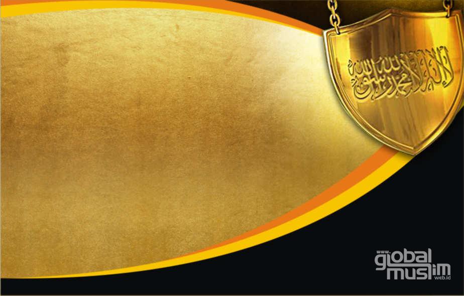 Template: Syahadah, Gold Background