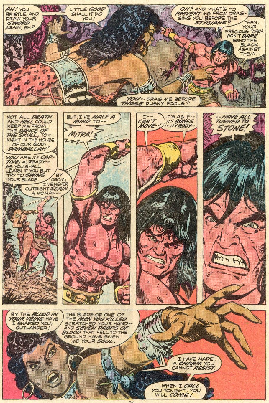 Conan the Barbarian (1970) Issue #82 #94 - English 19