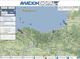 Seguimiento de barcos y aviones