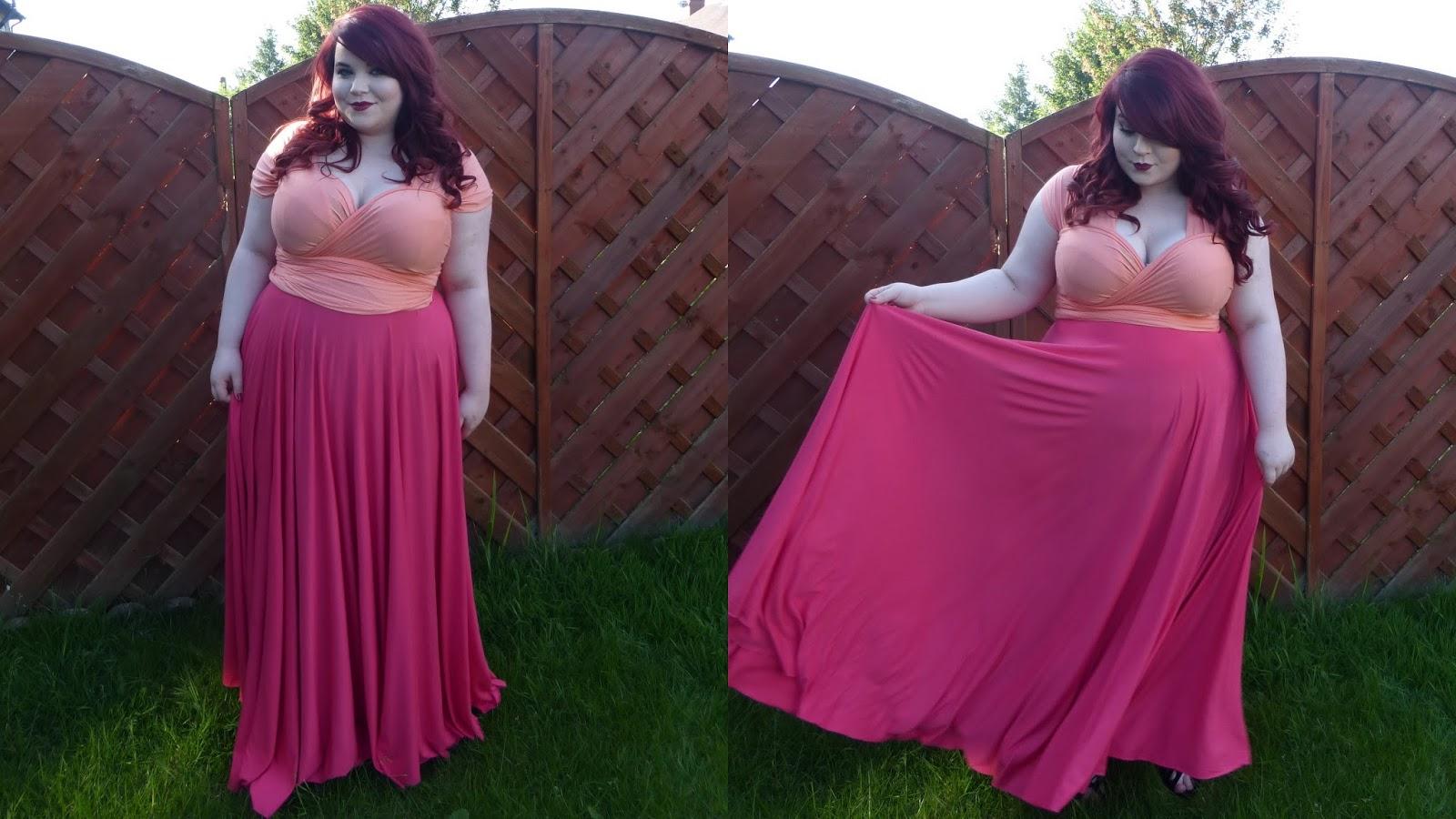 Eternity Convertible Maxi Dress (Romance), Sophisticated Curves, georgina grogan