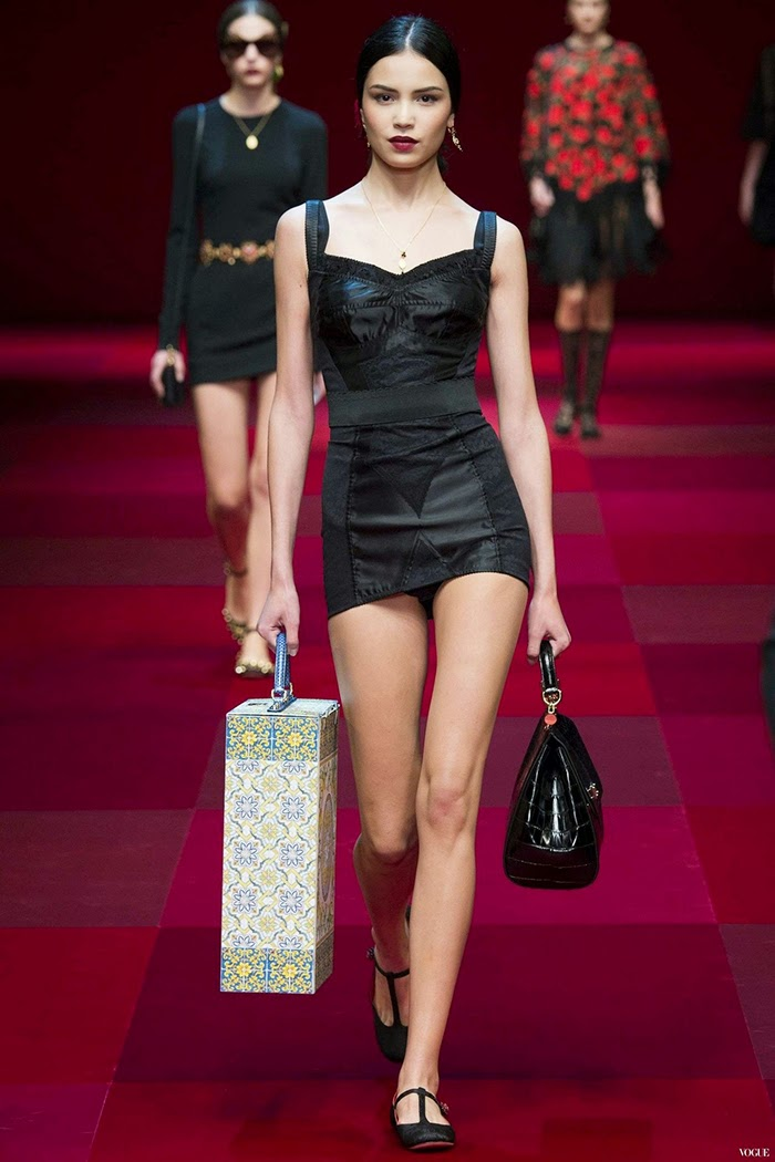 Dolce & Gabbana Ready To Wear Spring Summer 2015 Milan Part 3