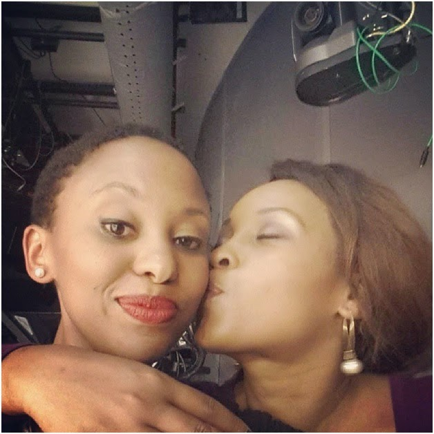 top Kenyan female Celeb (She is a l3sbian too)Photo Evidence