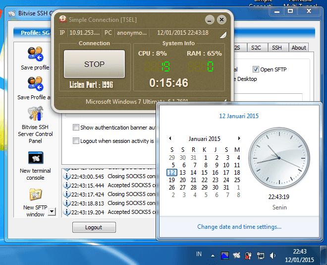 Inject Telkomsel V.13 Tanggal 14 - 15 Januari 2015
