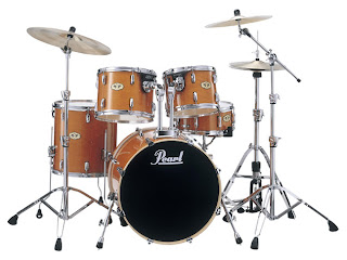 Pearl Drum Set - Pearl Vision Maple Lacquer Drum Set
