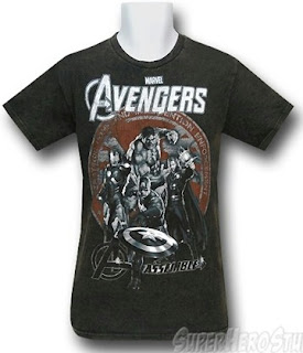 Click here to order your Avengers SHIELD Assemble t-shirt at SuperHeroStuff!