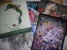 Mi coleccin de artbooks: