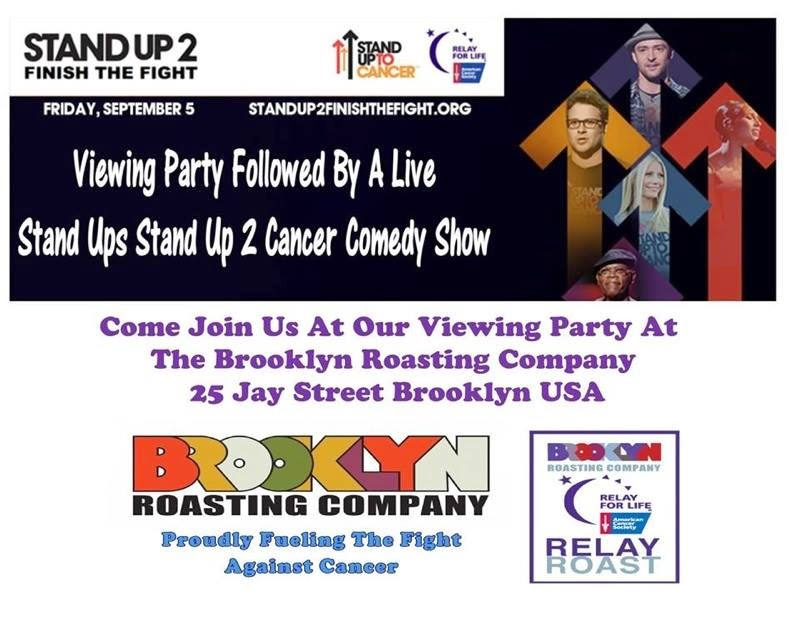 STAND UP TO CANCER BENEFIT
