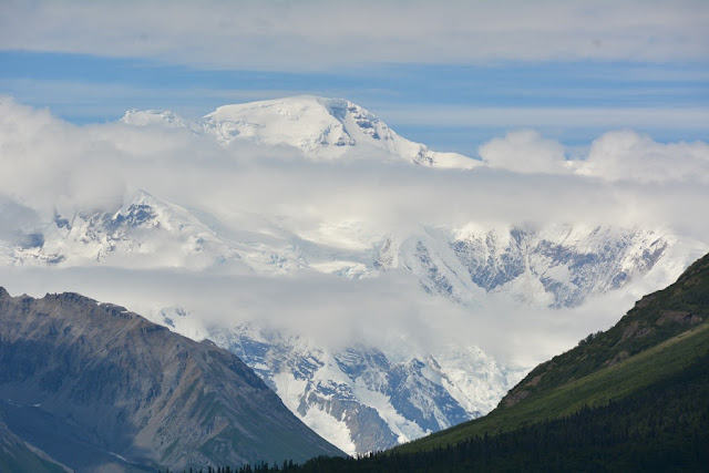 Kennicott Glacier Mount Blackburn