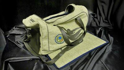 Мужская сумка со съемным жестким дном - подарок тренеру, подарок спортсмену