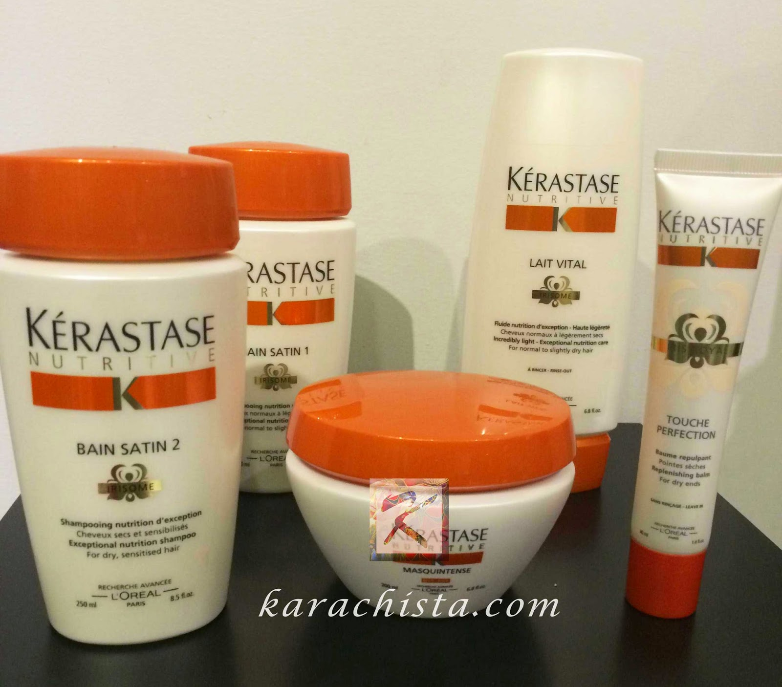Kerastase treatment for great hair