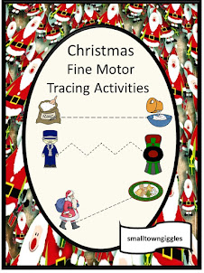 Christmas Fine Motor Tracing Activities