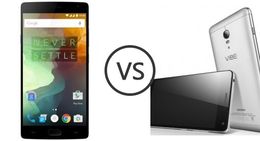 OnePlus X Vs Lenovo Vibe P1 Price & Specs Comparison