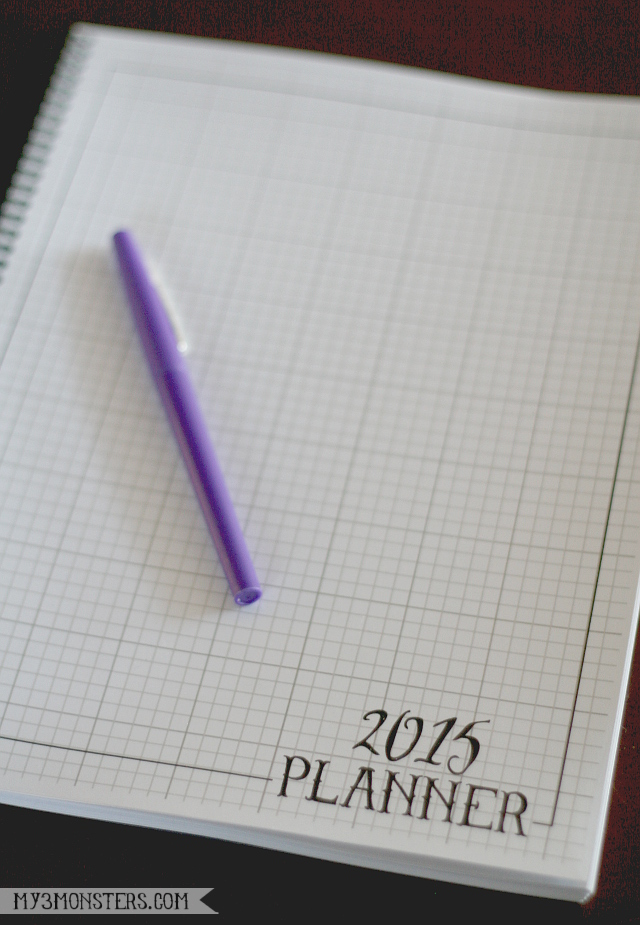 2015 Printable Planner at my3monsters.com