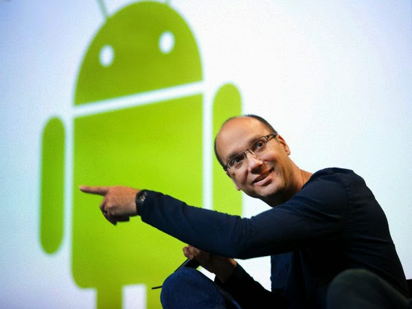 Andy Rubin tinggalkan Google