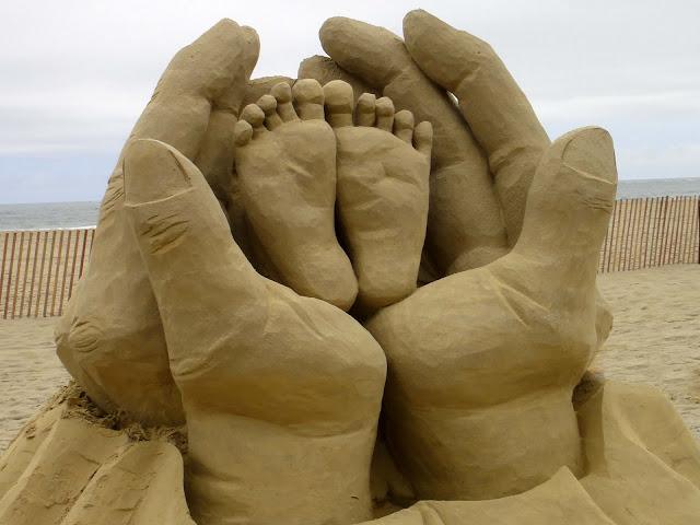 Joe's Retirement Blog: Sand Sculpting, Hampton Beach, New ...