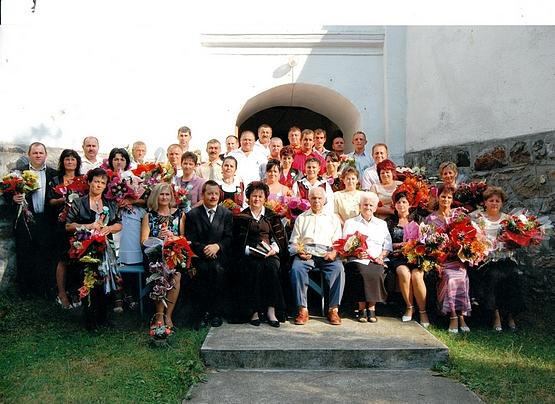 40 éves kortárstalálkozó - Alsósófalva, 2012