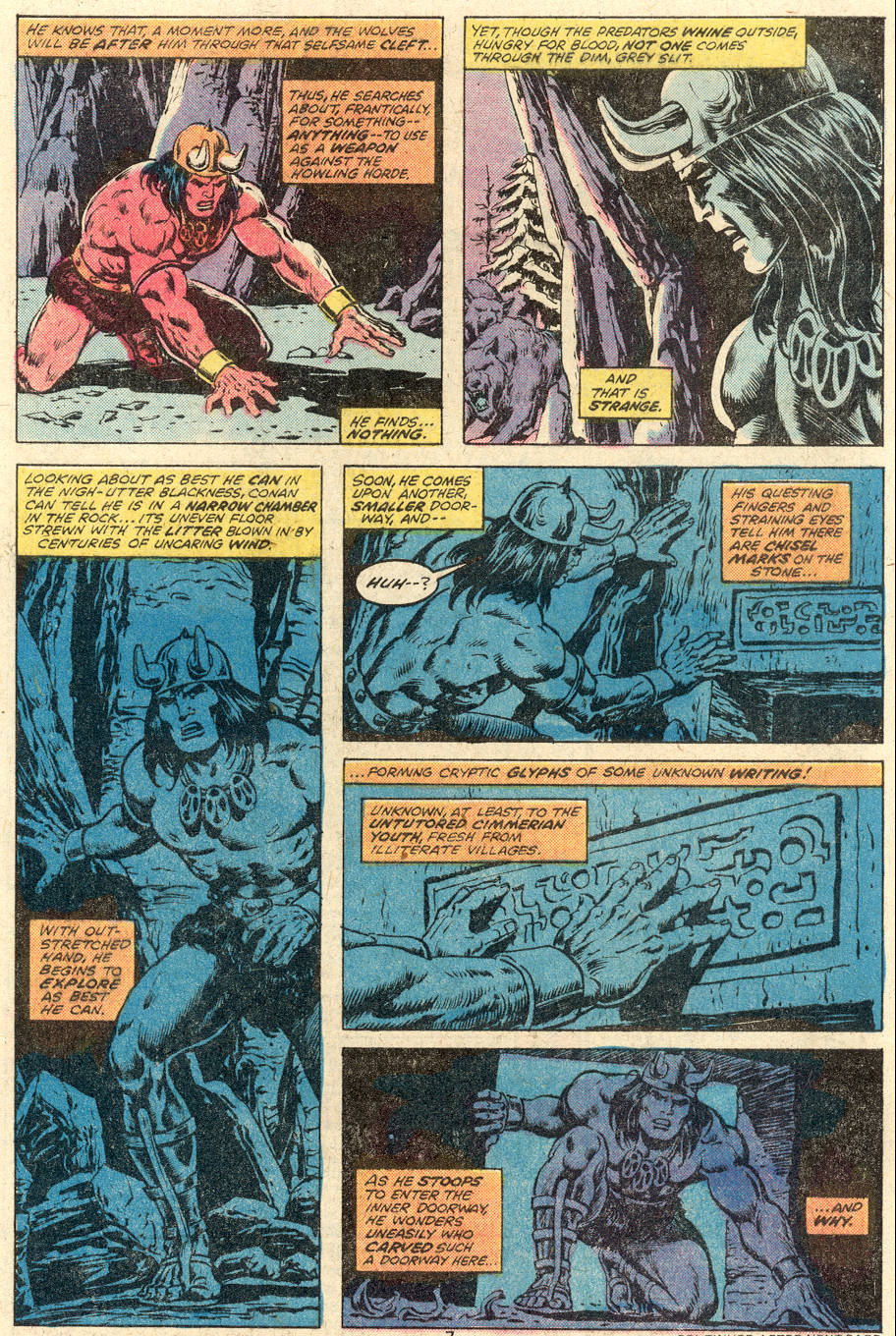 Conan the Barbarian (1970) Issue #92 #104 - English 7
