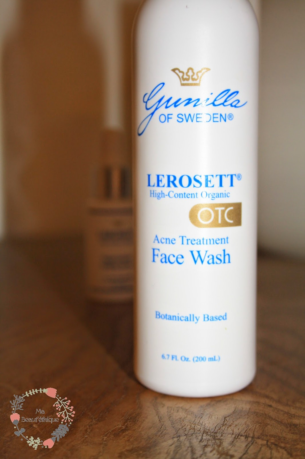 lerosett gunilla of sweden acne organic solution face wash clay mask regenerative healing serum