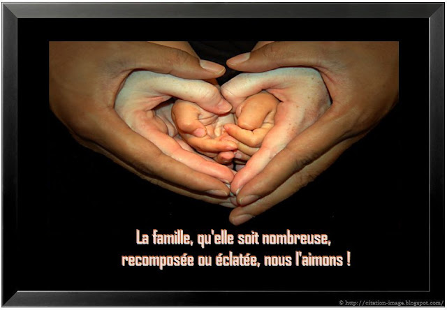 Citation image famille