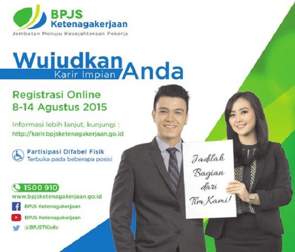 BPJS KETENAGAKERJAAN/KESEHATAN : PENATA MADYA PELAYANAN, KEUANGAN, IT, SDM DAN MARKETING RELATIONSHIP OFFICER - ACEH, INDONESIA