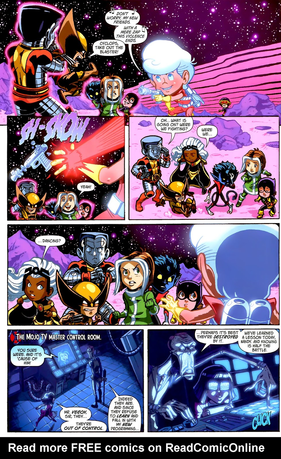 Read online X-Babies comic -  Issue #2 - 8