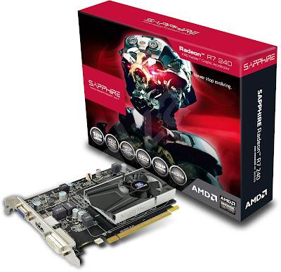 Sapphire Radeon R7 240 1GB DDR5 128 Bits