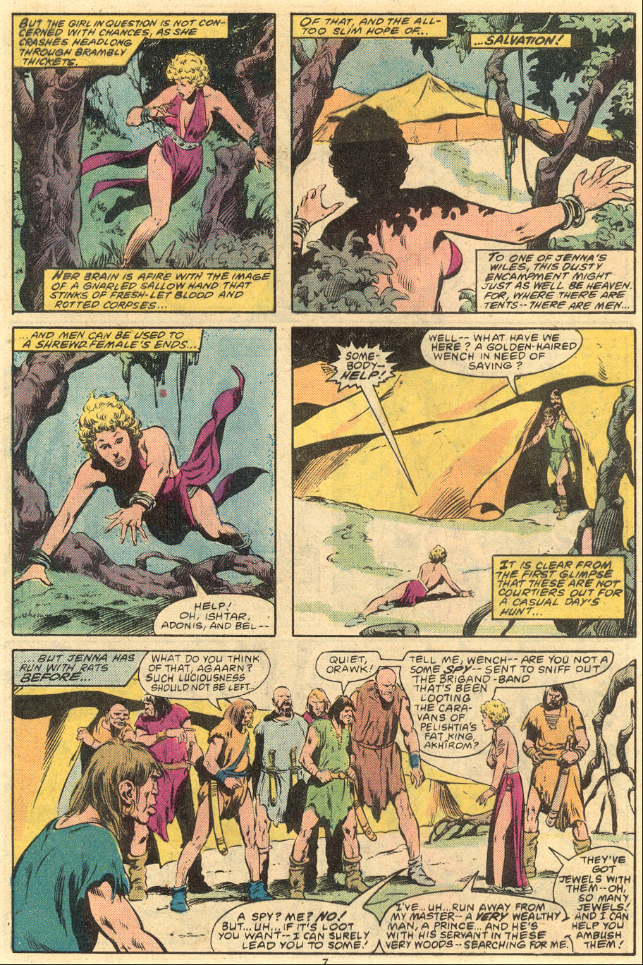 Conan the Barbarian (1970) Issue #120 #132 - English 7