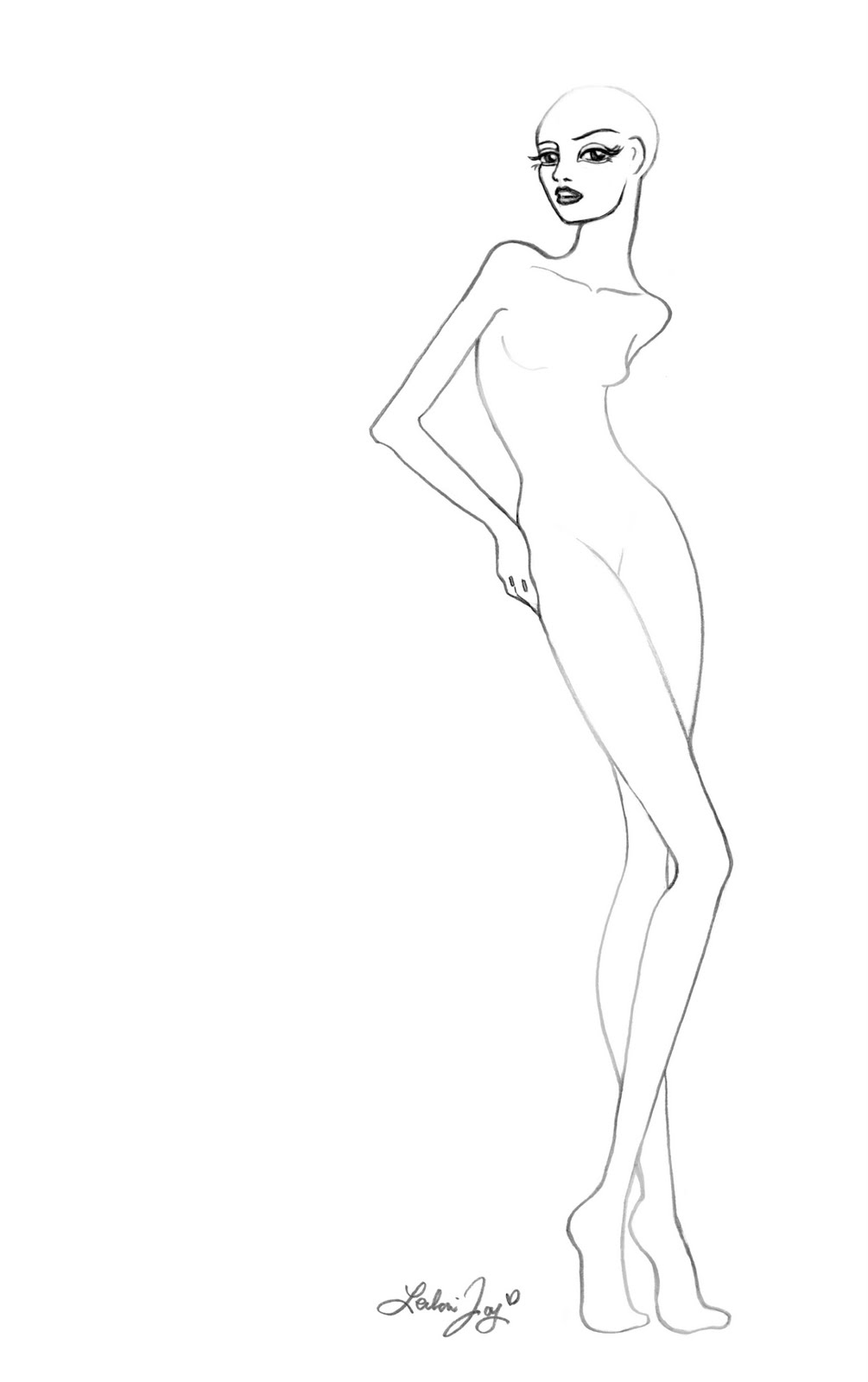 Download Image Fashion Design Silhouette Templates PC Android IPhone