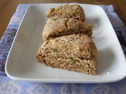 Vegan Multi Seeded Wholegrain Scones