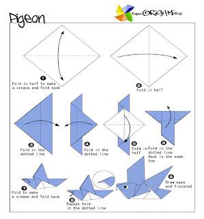 Pigeons Origami