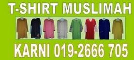 Baju T-Shirt Muslimah